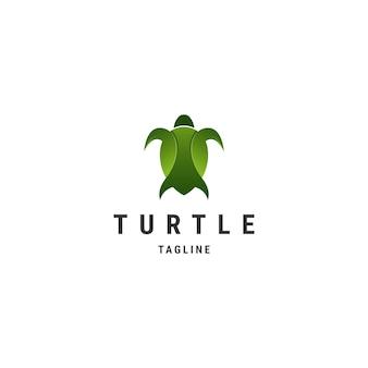 Design incrível de logotipo premium para tartarugas