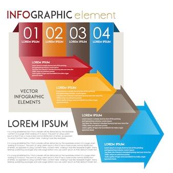 Design infográfico infantil incrível