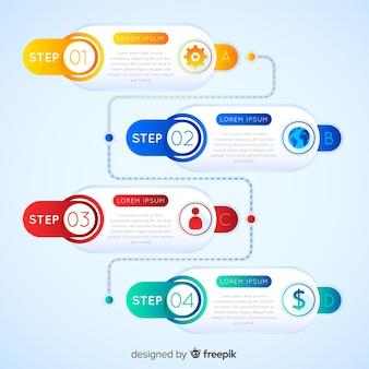 Design infográfico passo