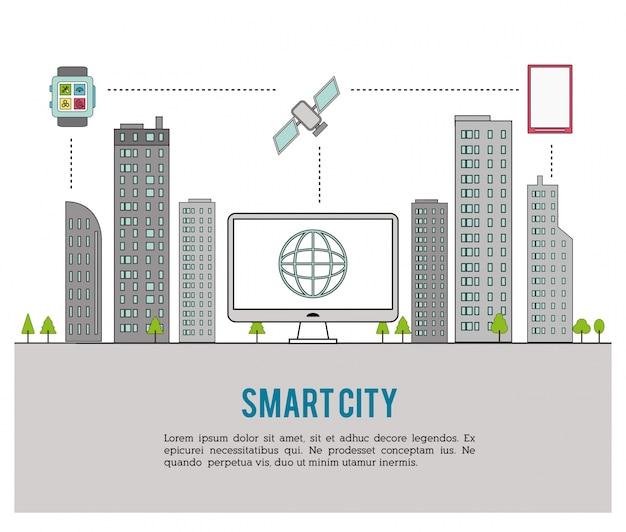 Design inteligente da cidade
