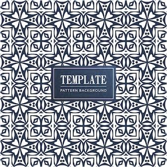Design islâmico e árabe padrão com ornamento