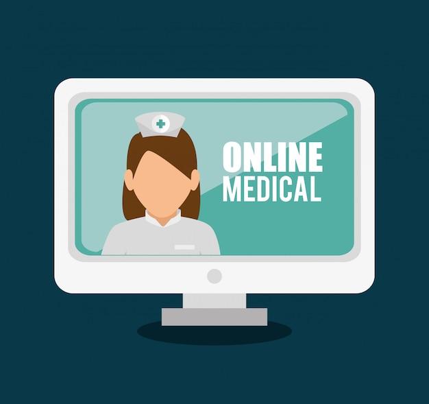Design médico online