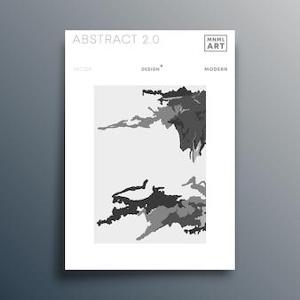 Design minimalista abstrato para panfleto, cartaz, capa da brochura, plano de fundo, papel de parede, tipografia ou outros produtos de impressão. ilustração vetorial.