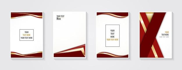 Design minimalista da capa moderna gradientes coloridos dinâmicos padrões geométricos futuros