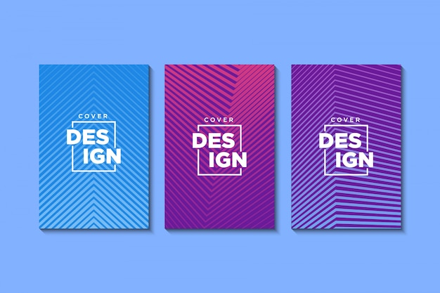 Design minimalista de capas