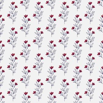 Design minimalista padrão de flor