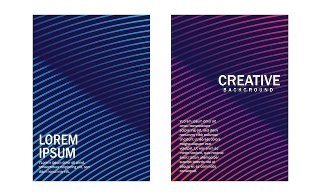 Design mínimo de capas