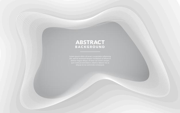 Design moderno abstrato cinza branco