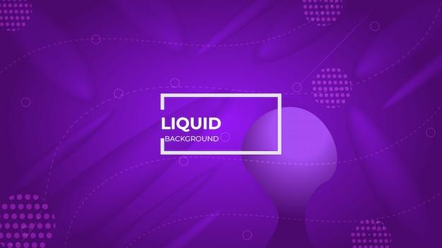 Design moderno abstrato com formas fluidas