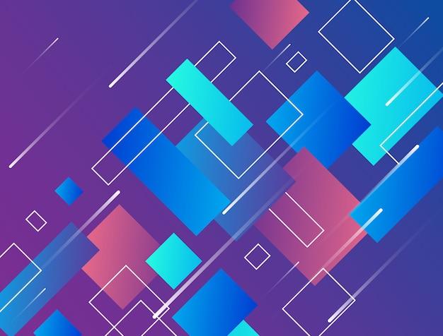 Design moderno abstrato que parece de alta tecnologia