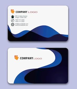 Design moderno cartão de visita