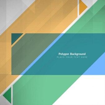 Design moderno colorido abstrato poligonal fundo