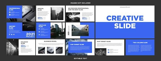 Design moderno de apresentação multifuncional