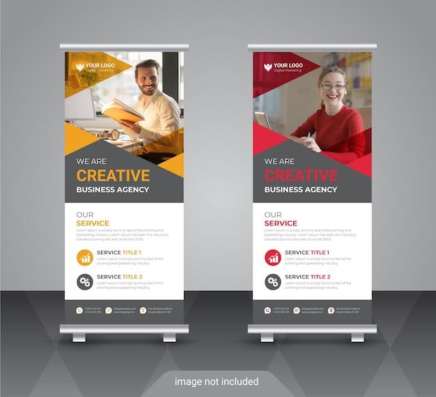 Design moderno de banner de negócios moderno