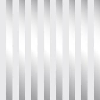 Design moderno de papel de parede listrado de prata