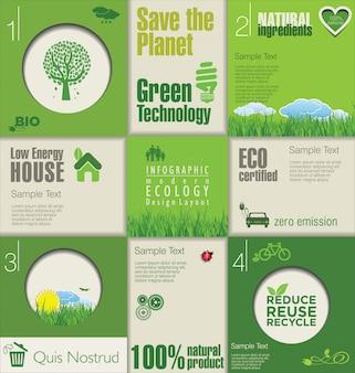 Design moderno ecologia