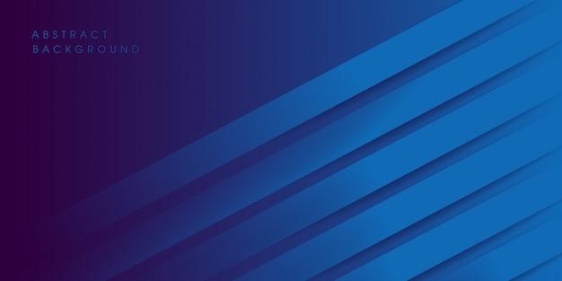 Design moderno fundo azul