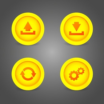 Design multimédia botões