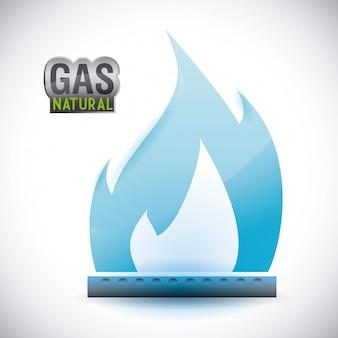 Design natural de gás