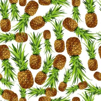 Design padrão de abacaxi