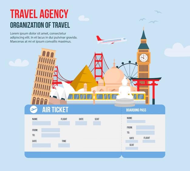 Design para agência de viagens