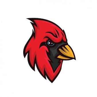 Design pintado mão pássaro