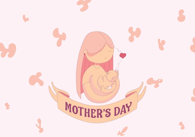 Design plano de dia das mães