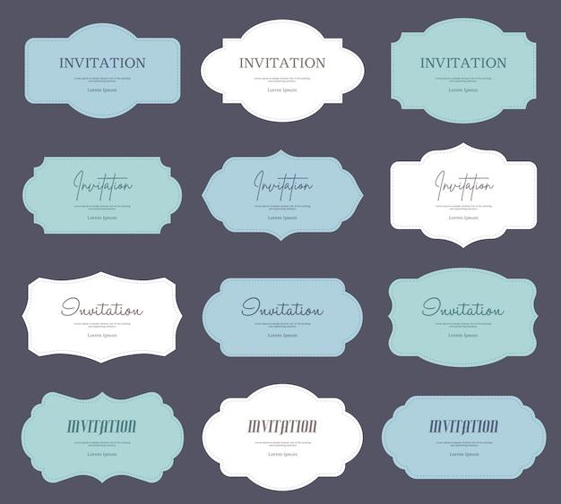 Design plano de etiquetas