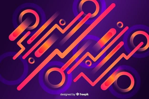 Design plano de fundo dinâmico de gradiente