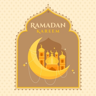Design plano de fundo ramadan kareem