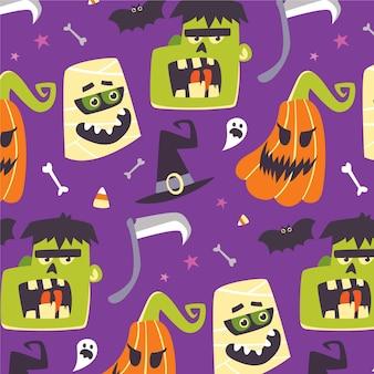 Design plano de halloween