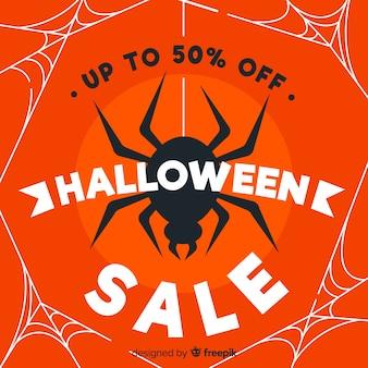 Design plano de venda de halloween