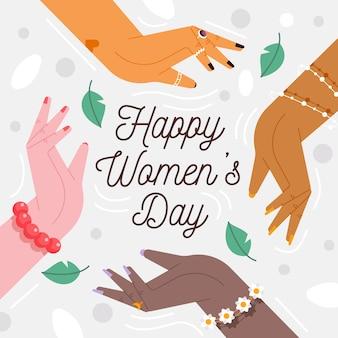 Design plano evento de dia das mulheres