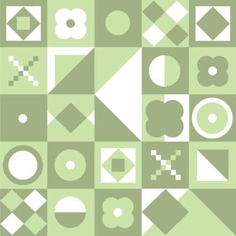 Design plano padrão escandinavo