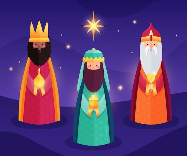 Design plano reyes magos