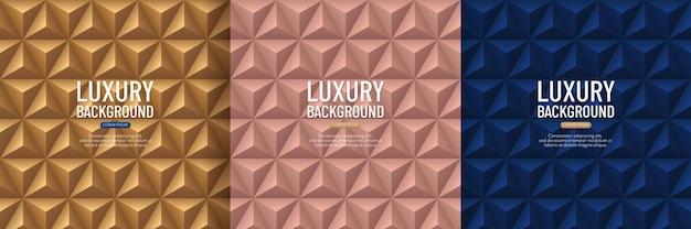 Design plano simples e moderno. padrão de mosaico poligonal.