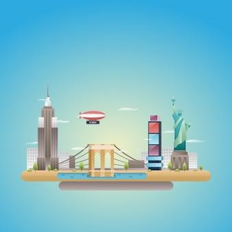 Design plano skyline eua