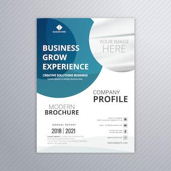 Design profissional de modelo de panfleto de negócios