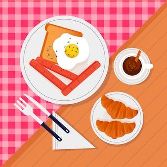 Design realista de comida reconfortante