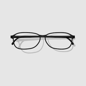 Design realista de óculos