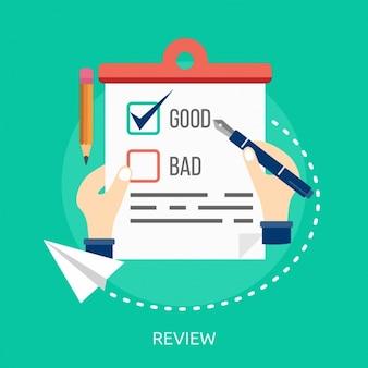 Design review fundo
