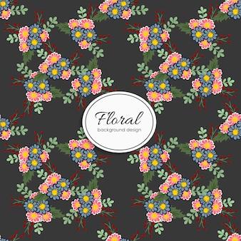 Design sem costura padrão floral