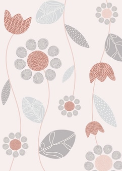 Design simples flor