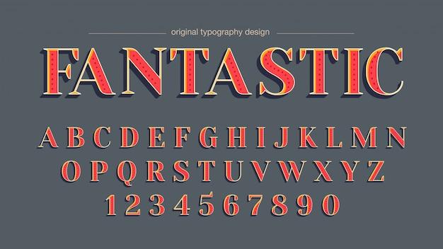 Design tipografia personalizada elegante