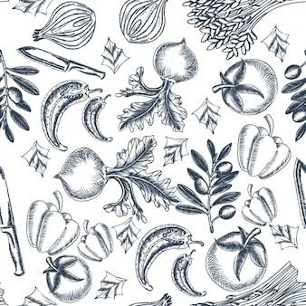 Design vegetais padrão