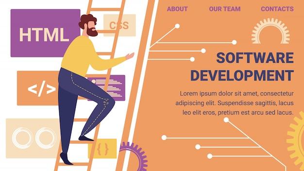 Designer de website e reunião de desenvolvedores de programadores