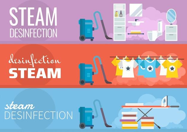 Desinfecção a vapor
