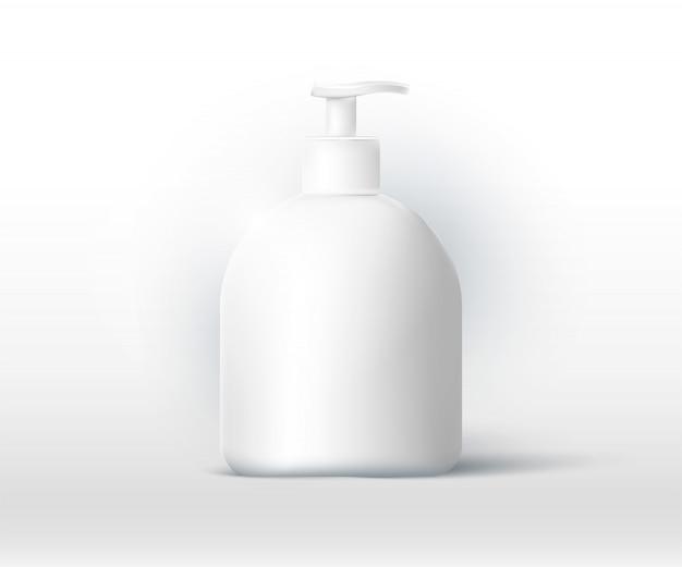Desinfetante para as mãos 3d para proteção contra coronavírus.
