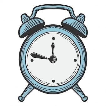 Despertador, relógios analógicos.