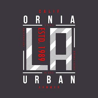 Destino urbano da cidade do verão de califórnia